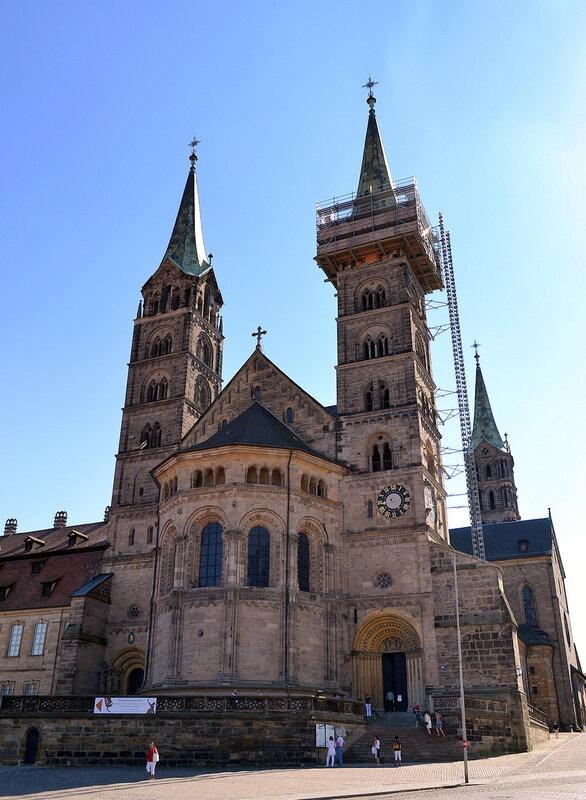Апсида кафедрального  собора Бамберга