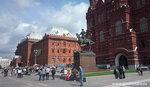 Москва.Государственный исторический музей .Памятник Георгию Жукову