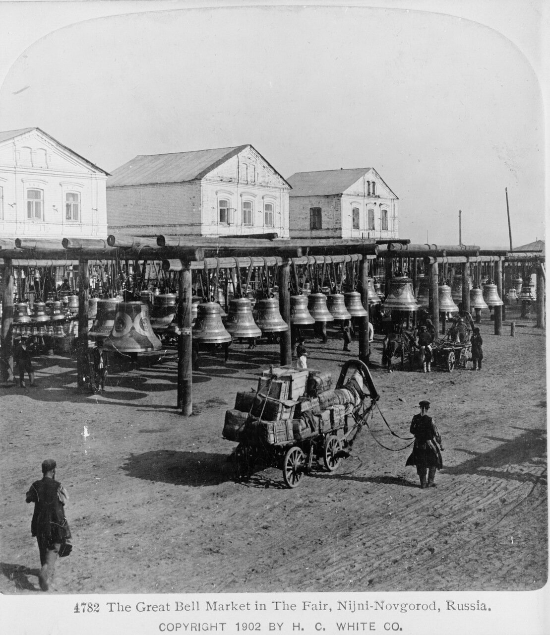 Рынок колоколов на Ярмарке