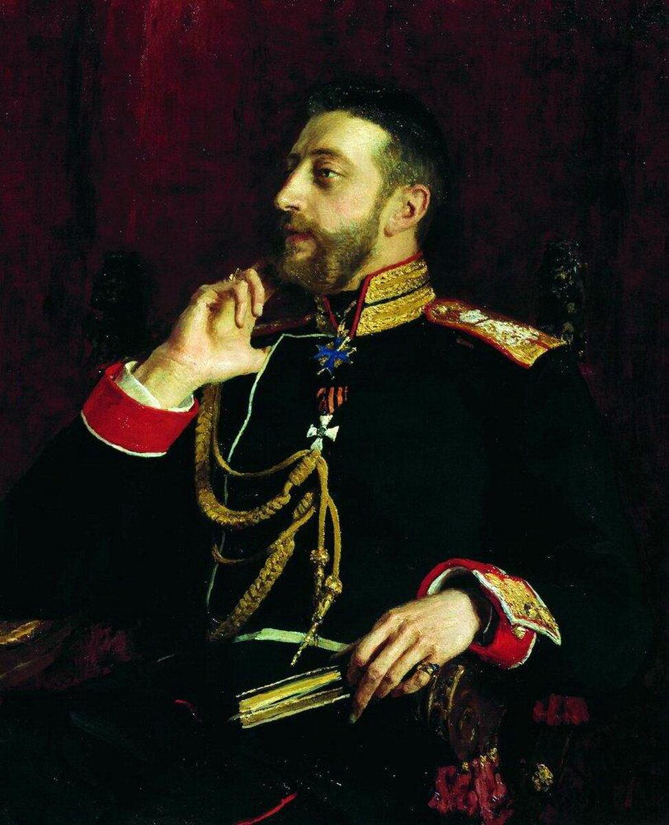 Илья Ефимович Репин (1844–1930). Портрет великого князя Константина Константиновича Романова