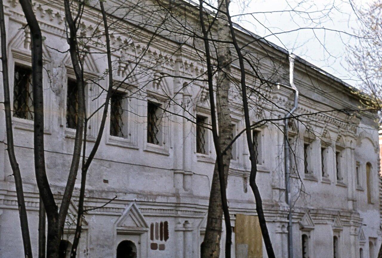 Юсуповские палаты в Большом Харитоньевском переулке. Ок. 1970 г.