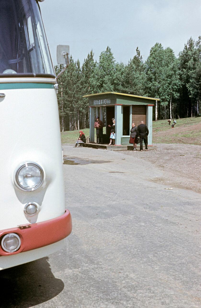 Окрестности Иркутска. Остановка «Большая речка»