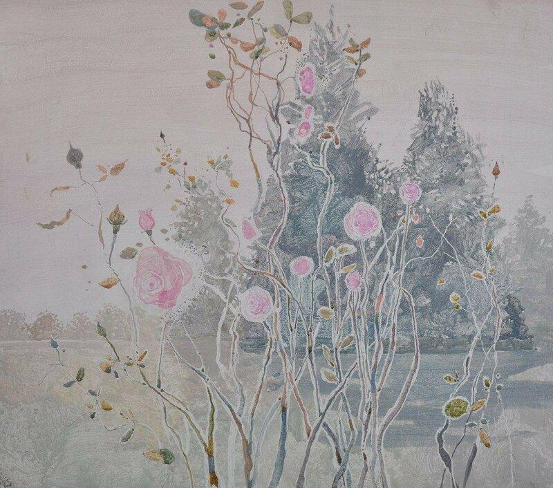 Rose garden, Battersea Park