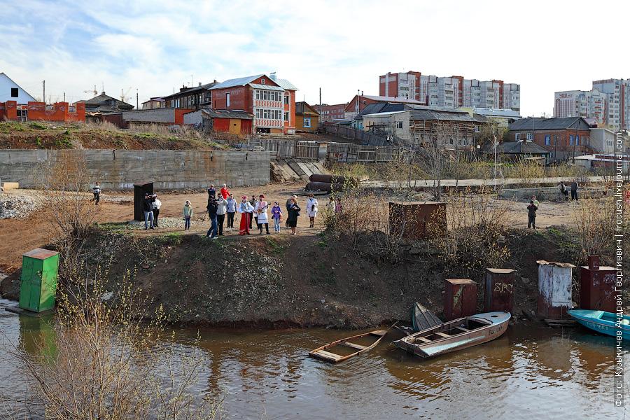 встреча речных туристов в Вятских Полянах