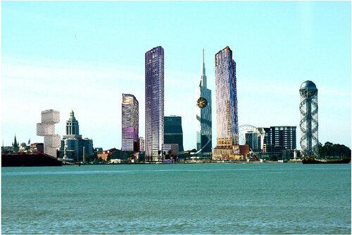 Skyscraper In Batumi Dubai100