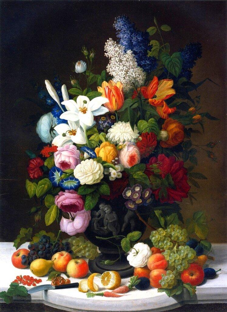 простой поиск цветочный и фруктовый натюрморт агентство
