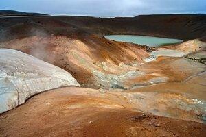 Кратер вулкана Вити