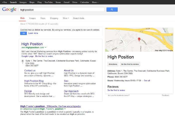 Google экспериментирует с выдачей
