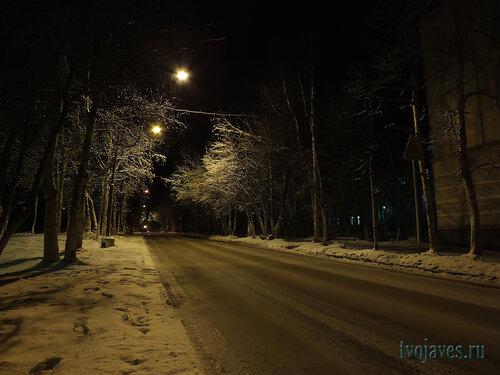 Фотография Инты №6077  Улица Полярная в сторону башни в районе Полярной 18