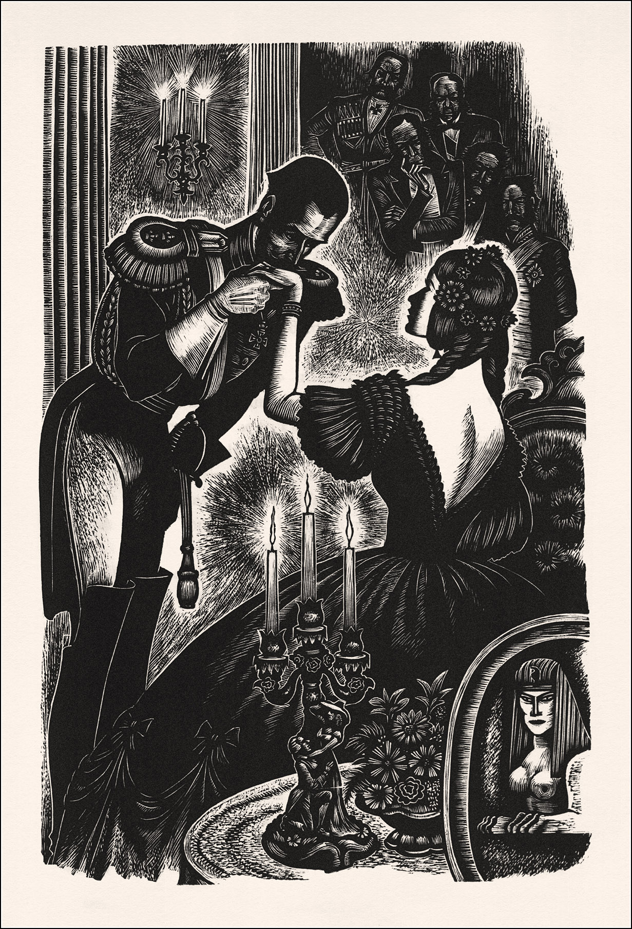 Fritz Eichenberg, Fathers and sons