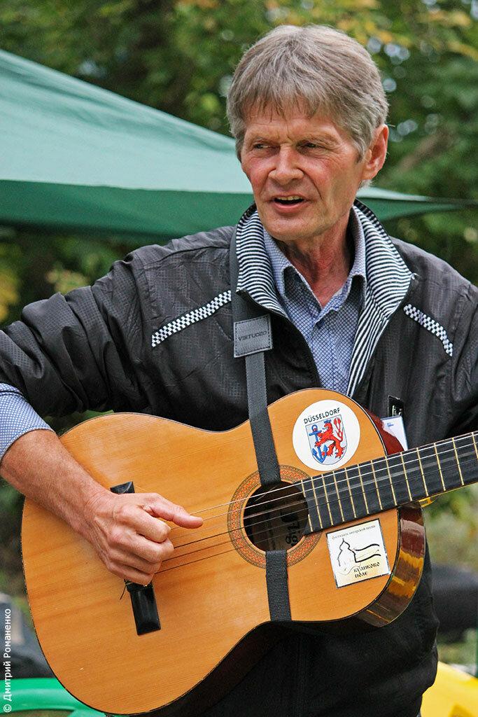 бард, гитара, река, оскол, волоконовский район, Белгородская область