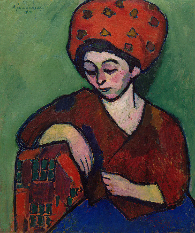 Helene with Colored Turban