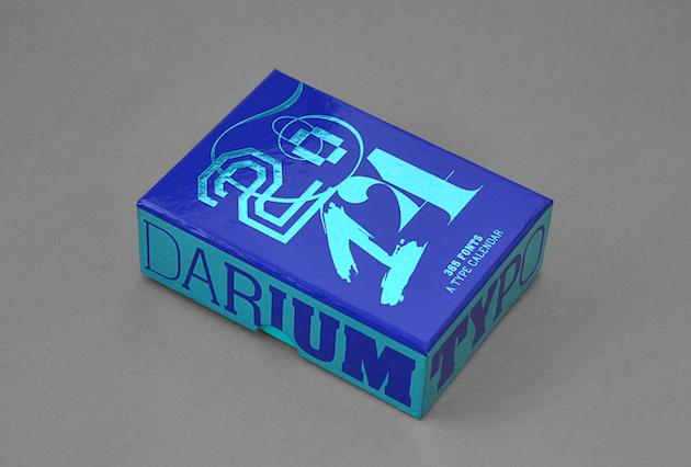 «Typodarium» - отрывной календарь для любителей типографики