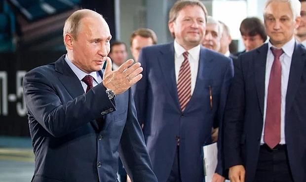 Кремль запросит убизнеса доклад особытиях, влияющих наэкономику