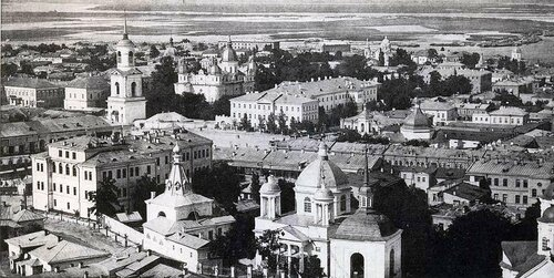 Панорама Подола начала ХХ века