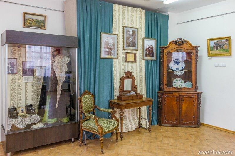 Краеведческая экспозиция, Чкаловск
