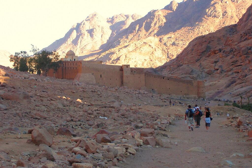 Фотография 19. Монастырь Святой Екатерины у подножья горы Моисея в Египте. Отзывы об экскурсии
