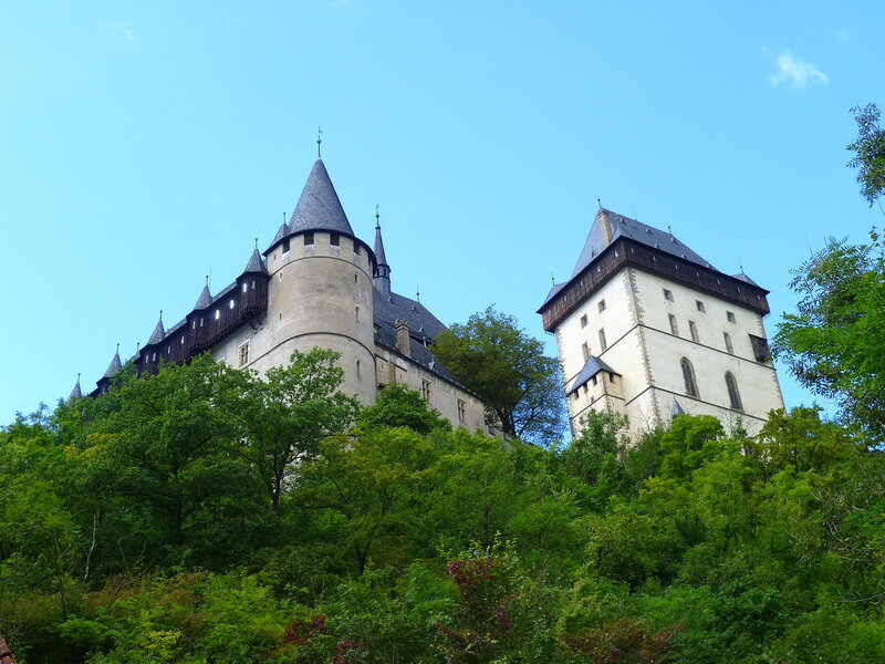 Чехия, замок Карлштейн (Czech Republic, Karlstejn Castle)