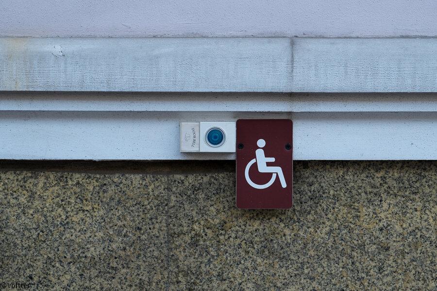 Кнопка для инвалидов