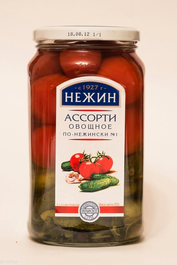 """Огурцы, помидоры """"Нежин"""""""