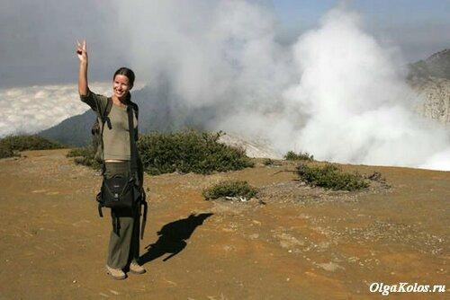 На вершине вулкана Иджен