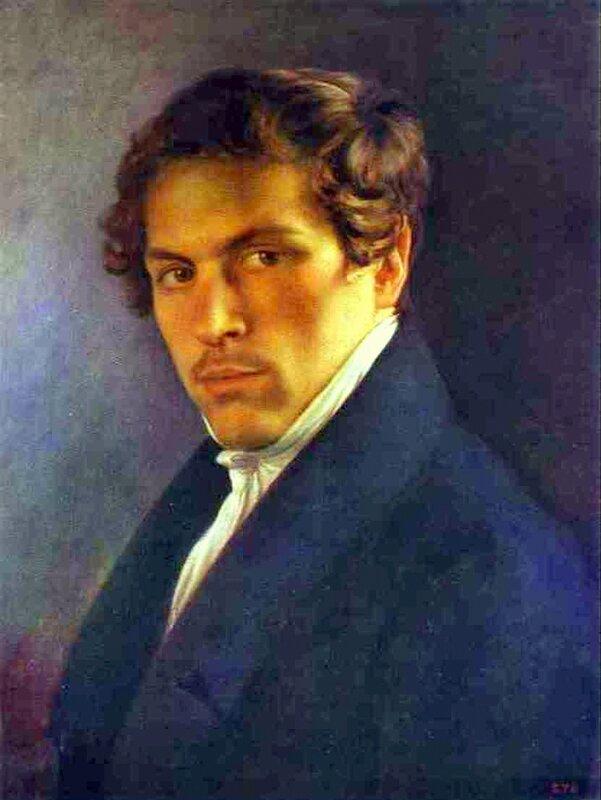 Портрет художника А. Алексеева, Алексей Тыранов, живопись