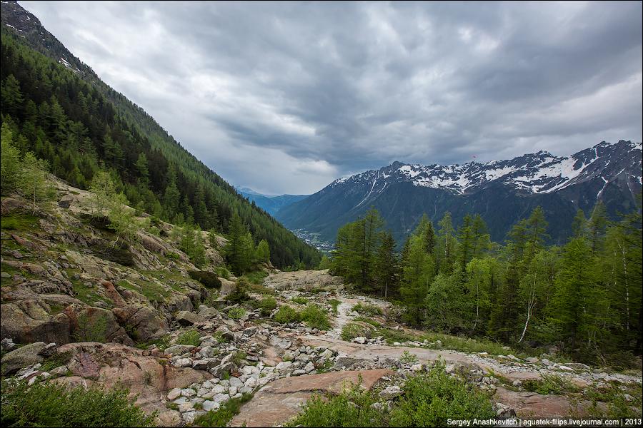 Туристические тропы в Альпах