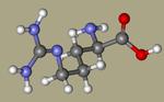 Arginine - D-Arginine, 157-06-2, D-Arg, D(-)-Arginine, (R)-2-amino-5-guanidinopentanoic acid, D-(-)-Arginine-CID_71070.png