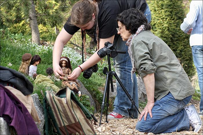 Фотосессия с куклами