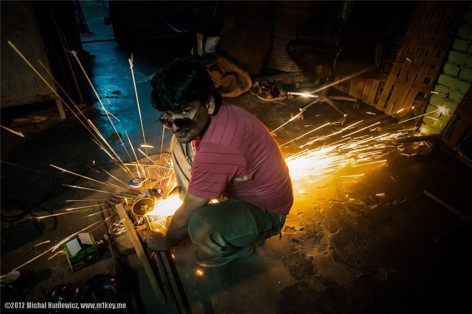 В мастерской в Джайпуре - путешествие по Индии / India by Michal Huniewicz