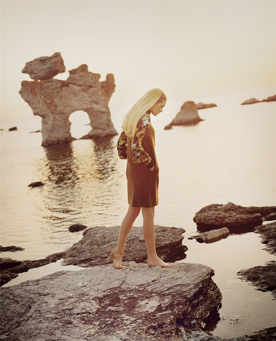 Lily Donaldson / Лили Дональдсон в журнале Vogue UK, октябрь 2011 / фотограф Tom Craig