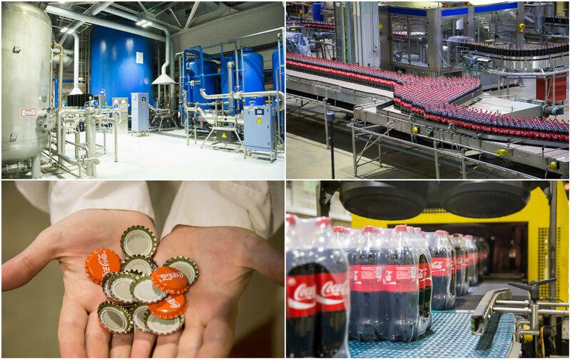Музей Coca-Cola при питерском заводе