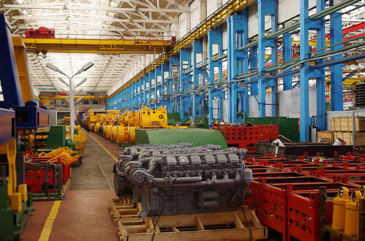 0 92850 2078efcb orig Как делают гигантов    БелАЗы.
