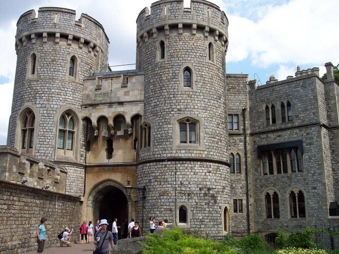 Виндзорский замок. Великобритания