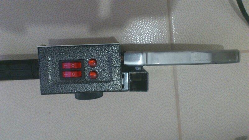 Паяльник для полипропиленовых труб ERL-00002 вид сверху