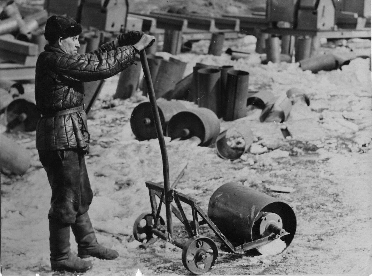 1957. Копейский завод Строммашина