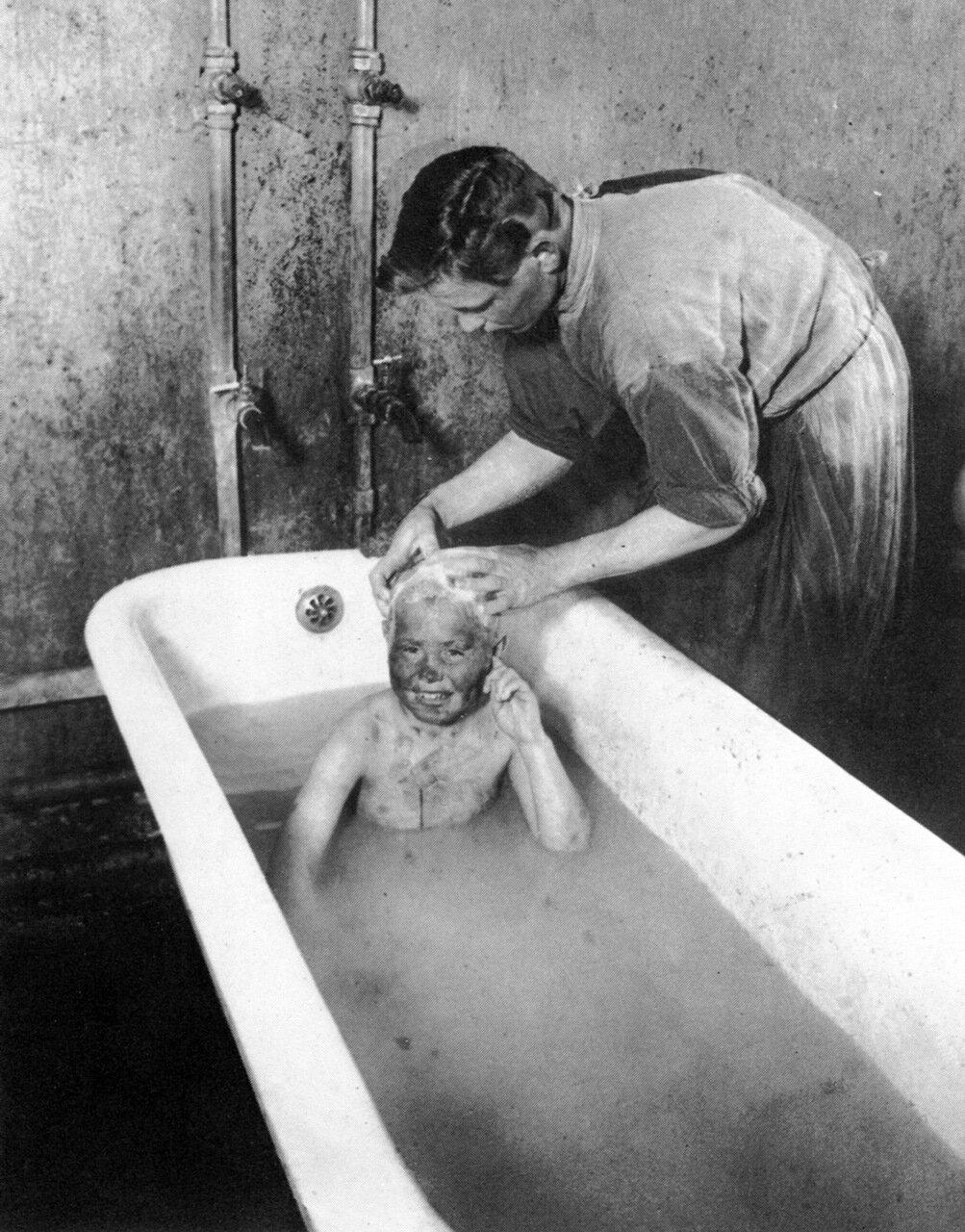 В детском приюте для беспризорников.1925 год