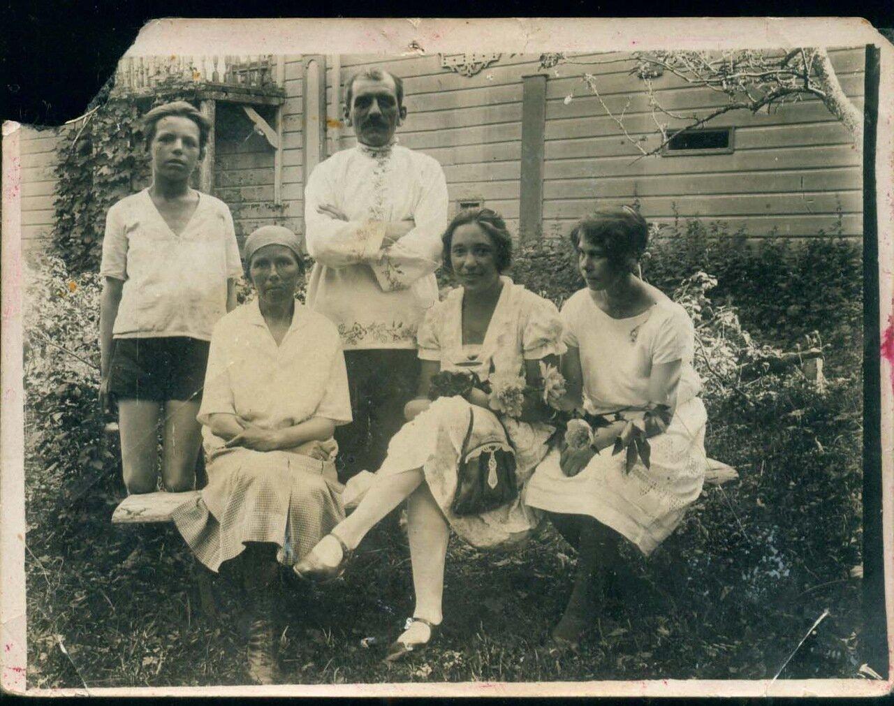 1929. В деревне Красниково Солигаличского уезда
