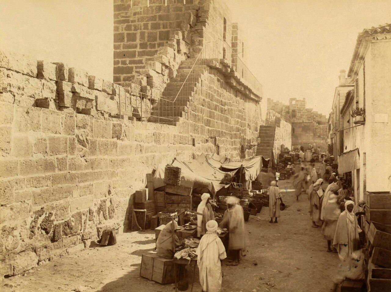1860-1890. Алжир. Открытый рынок