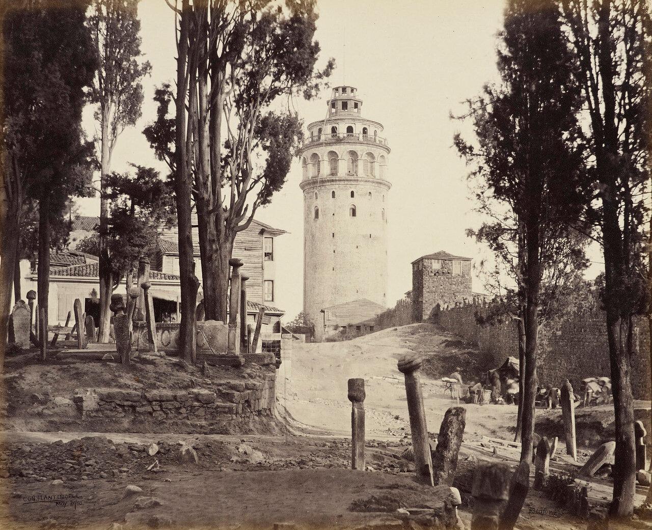 21 мая 1862. Башня Галата. Константинополь