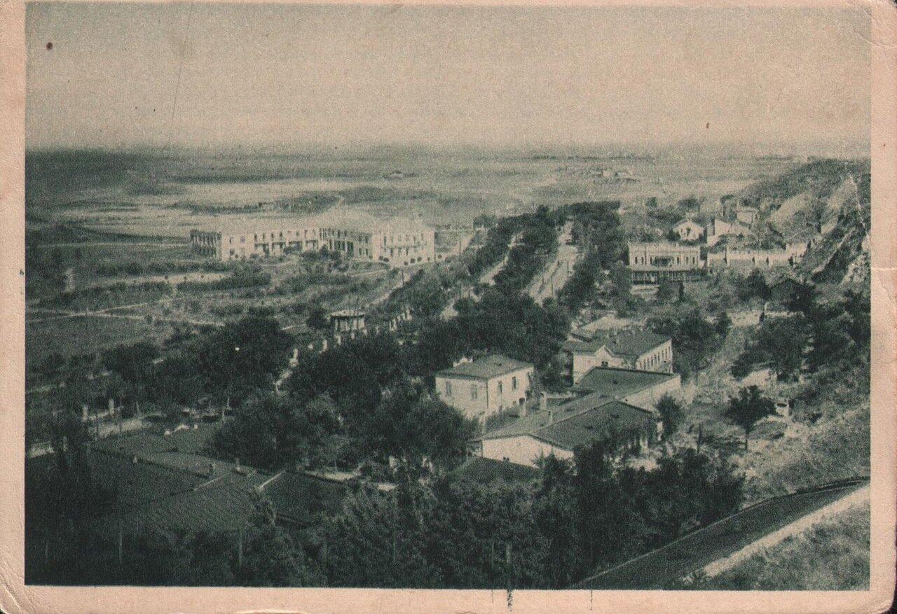 Лиман. Куяльницкий курорт. Общий вид. 1931 г.