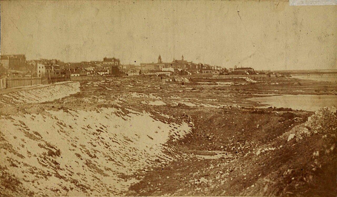 1864. Панорама Варшавы