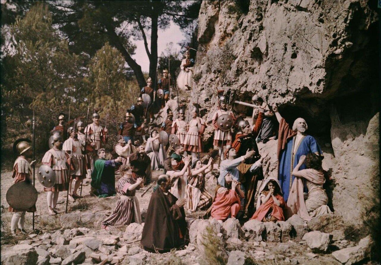 1907. Съемки фильма на библейскую тему