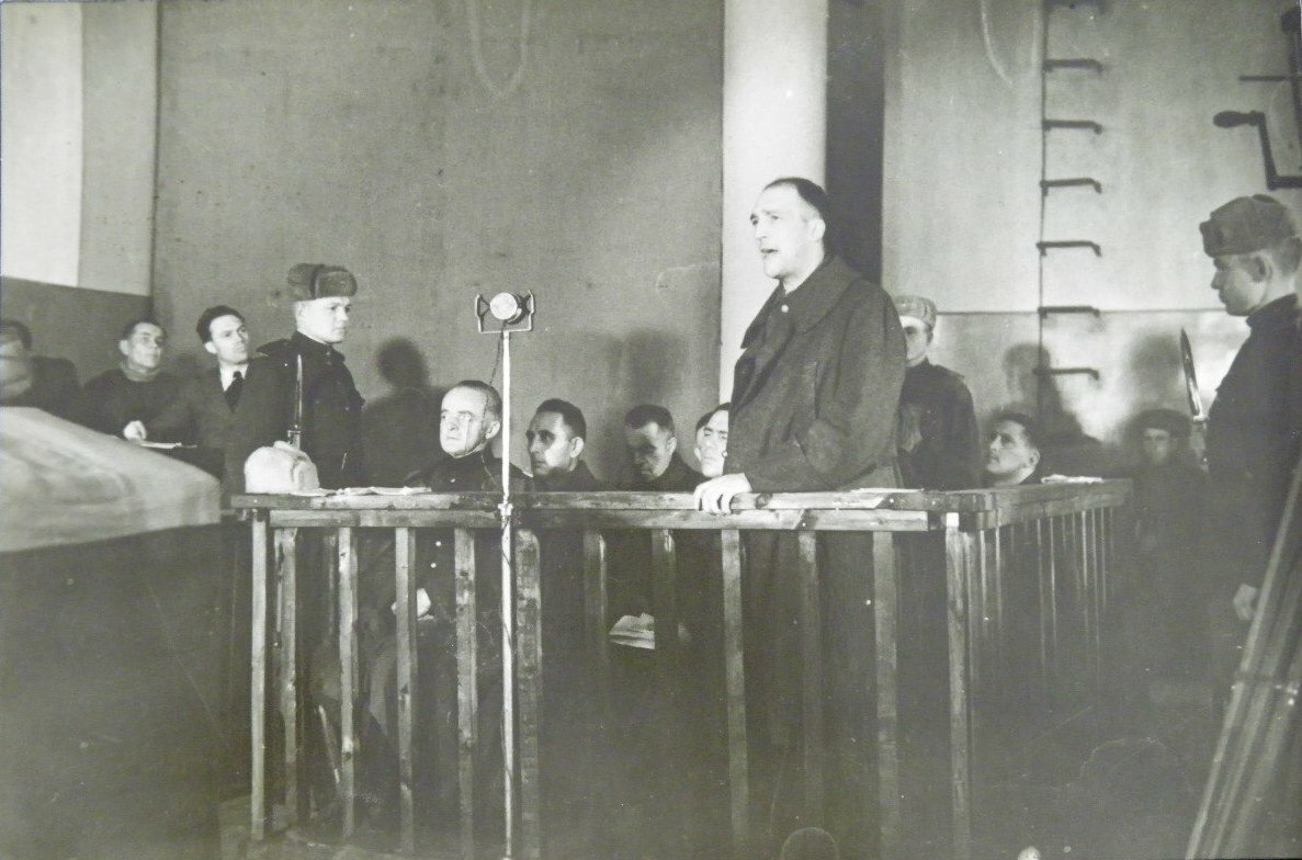1945.Суд над немецкими офицерами в Николаеве