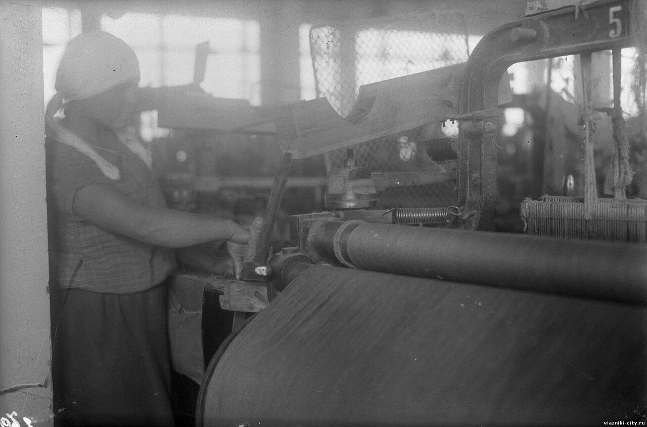 Сновальная машина фабрики-школы. 1931