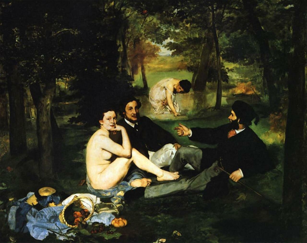 Мане, Завтрак на траве. 1863