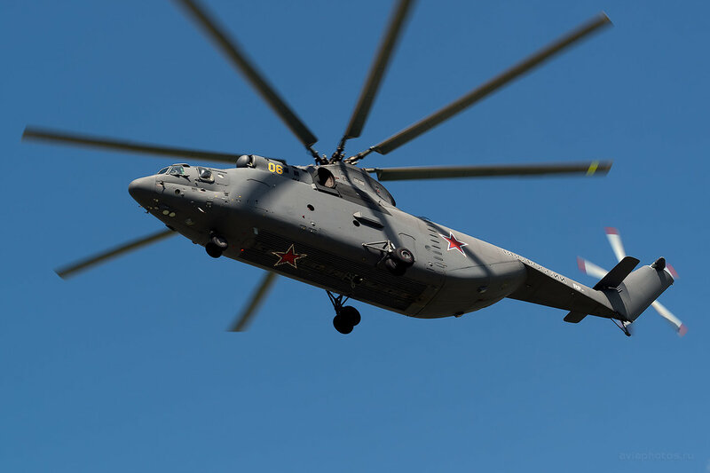 Миль Ми-26Т (06 желтый) D800305