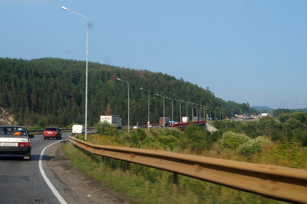 Трасса М5. Златоуст - Аша - Златоуст