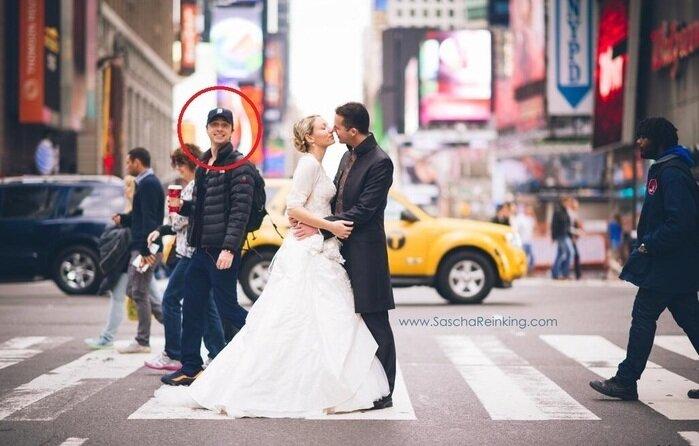 "Зак Брафф, звезда ""Клиники"", случайно испортил чье-то свадебное фото"
