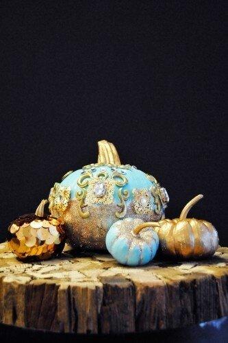 Тыквенно-праздничные идеи для интерьера